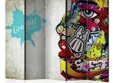 Paraván - Graffiti Beauty [Room Dividers]